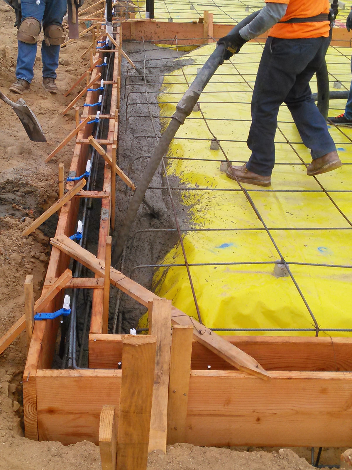 Belvedere Dr  Construction Update (concrete pour) | Heckel +